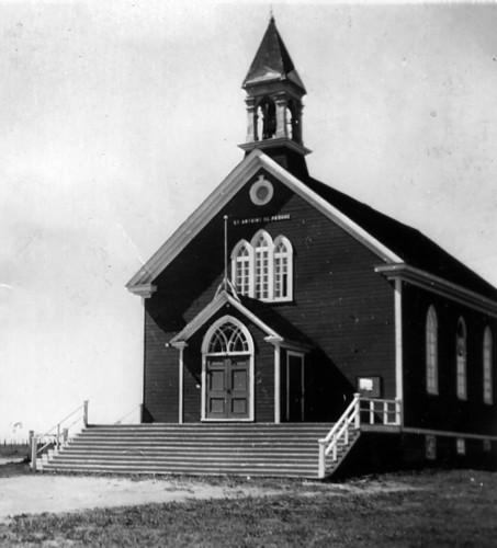 L'église de Padoue avant les travaux d'agrandissement