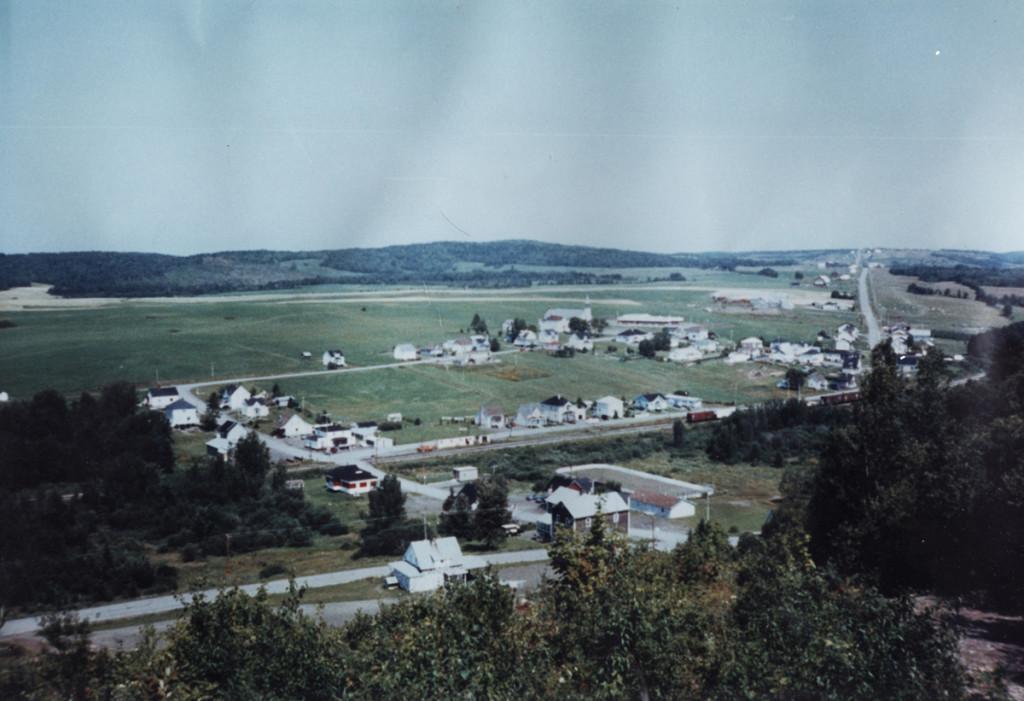 Le village en 1990