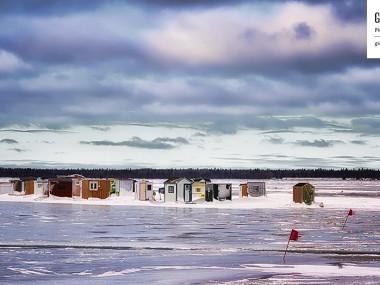 Pêche sur glace à Rimouski