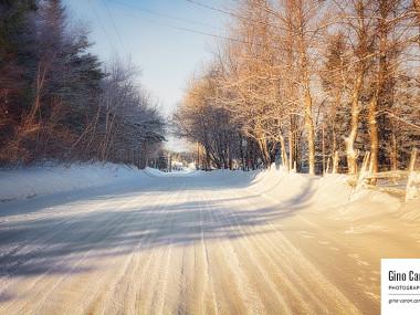 Rue de Ste-Luce en hiver