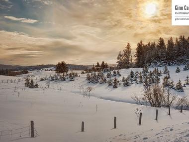 Un beau paysage hivernal… en ce matin de printemps