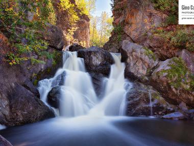 La chute de la rivière du Bic