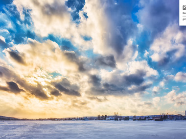 Le soleil chasse les nuages