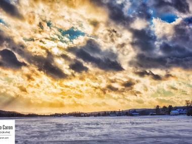 Le soleil chasse les nuages II