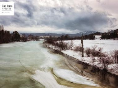 Rivière Mitis par une journée printanière… humide!