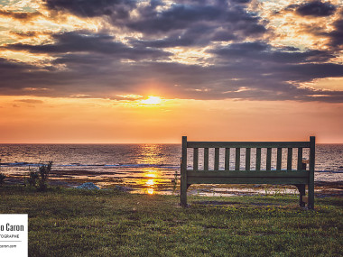 Un bel endroit pour admirer le coucher du soleil