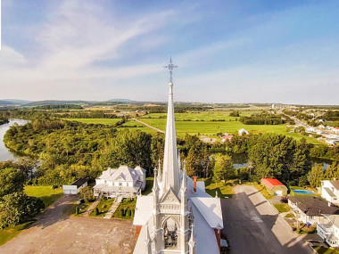 La croix du clocher
