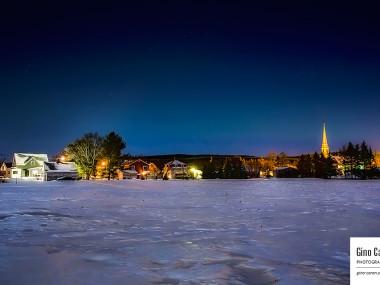 Une nuit froide d'hiver