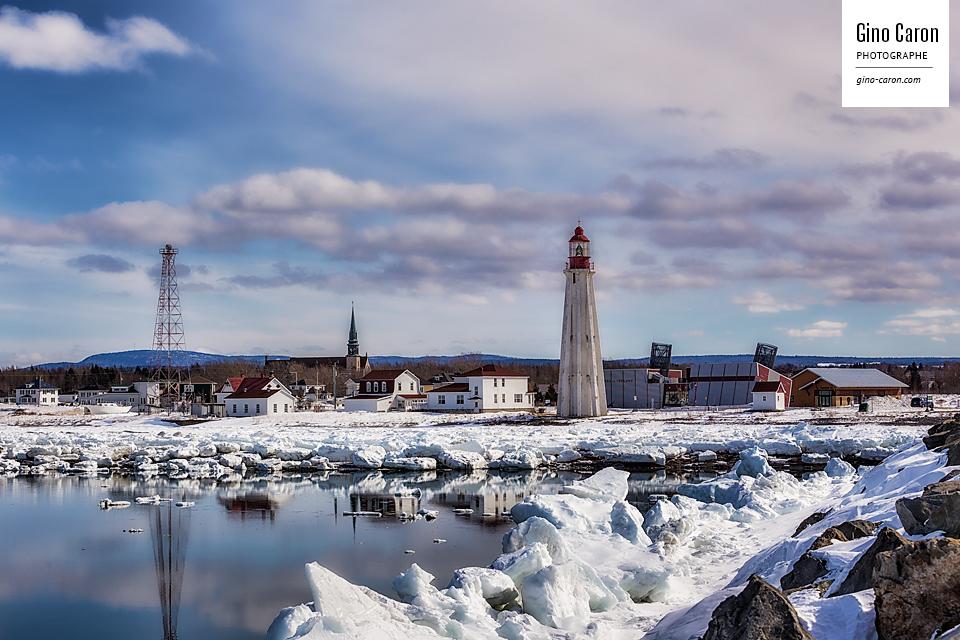 Le phare et la glace