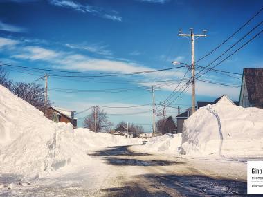 Rue de Rimouski après la tempête