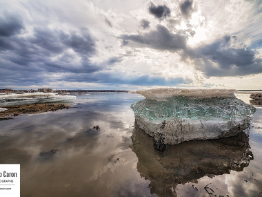 Un bloc de glace II