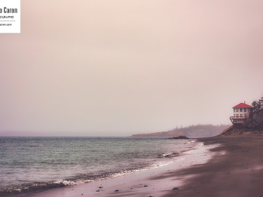 Une journée humide au Rocher Blanc