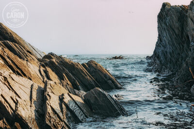 Entre les rochers