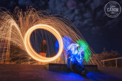 LigthPainting et Steel Wool
