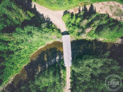 Le pont Bélanger à Métis-sur-mer