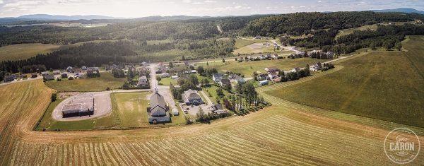 Le village de Padoue en panoramique II