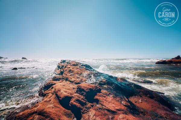 Un rocher rouge