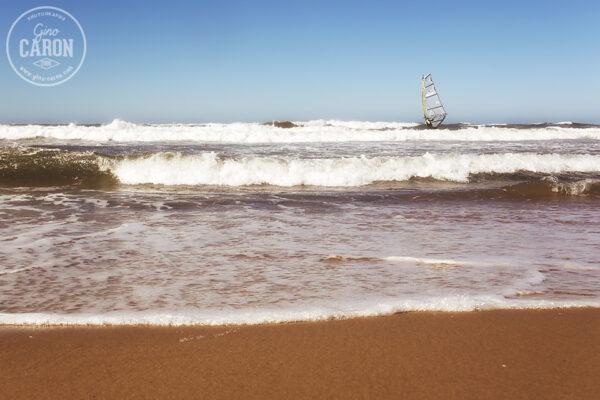De belles vagues...