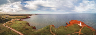 Panorama aérien madelinot