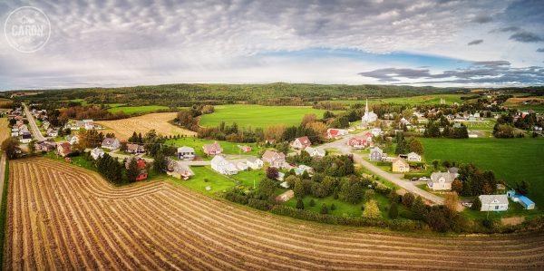 Début de l'automne au village