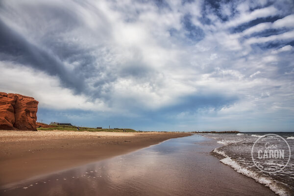 Sur une plage des Iles