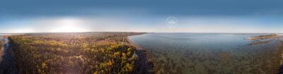 Automne à Rimouski - Panorama