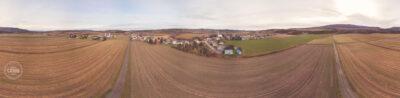 Matin d'automne - Panorama